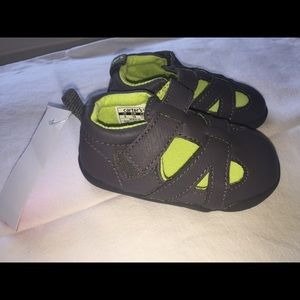 NWT Boys Carters shoes. Size 4 - 9-12 months